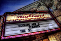 Highland Theater Marquee