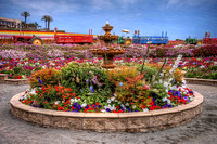 Flower Fields Fountain